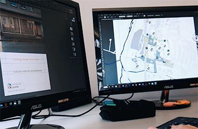 Städtebauliche Studien