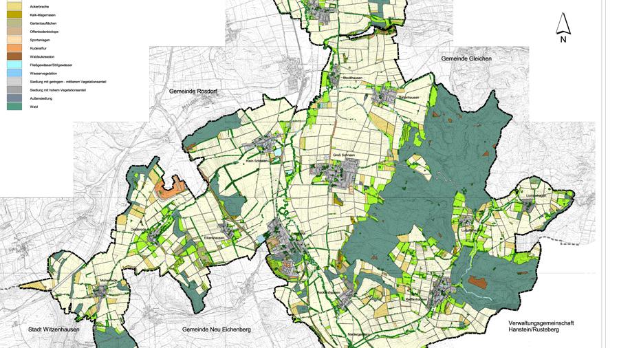 Landschaftsplan-Gemeinde-Friedland